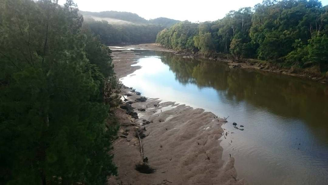 Article heading image for Barron River empties this morning