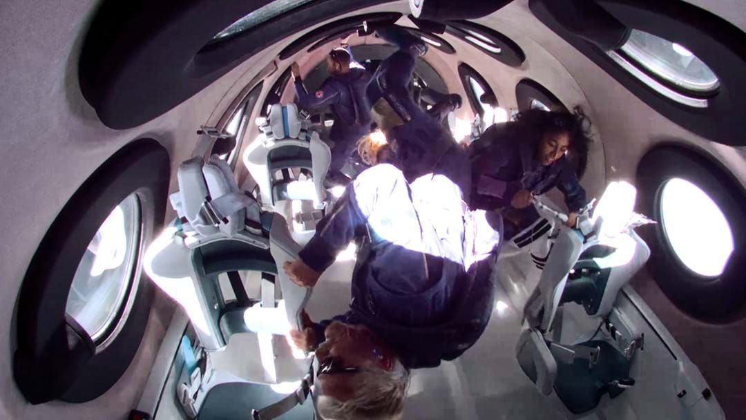 Article heading image for Everything To Know About Richard Branson's Space Flight