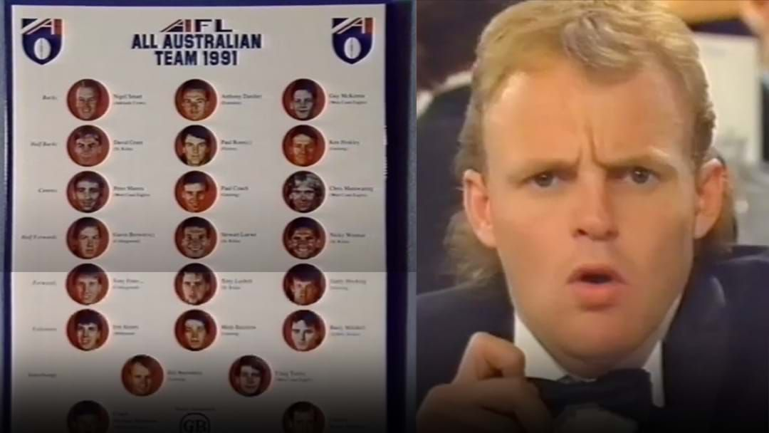 Article heading image for Damo's Deep Dive On The 1991 All Australian Team