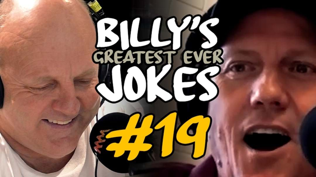 Article heading image for BILLY'S GREATEST JOKES EVER | #19: McGregor The Bar Builder