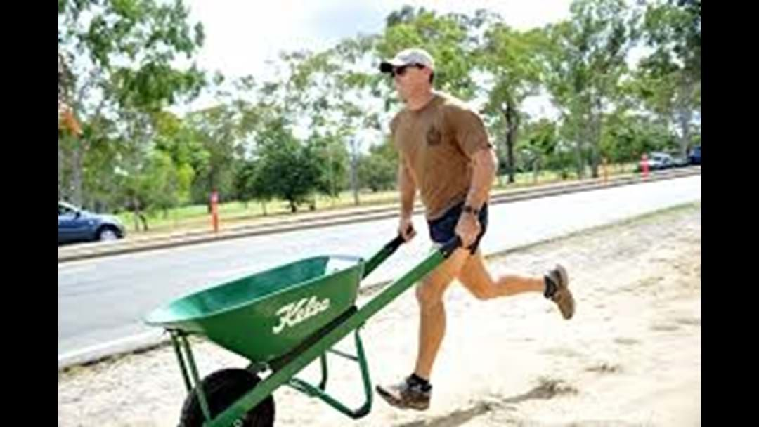 Article heading image for Day one of the Great Wheelbarrow Race is underway in Mareeba.