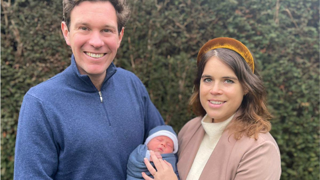 Article heading image for Princess Eugenie Has Revealed The Name Of Her Son!