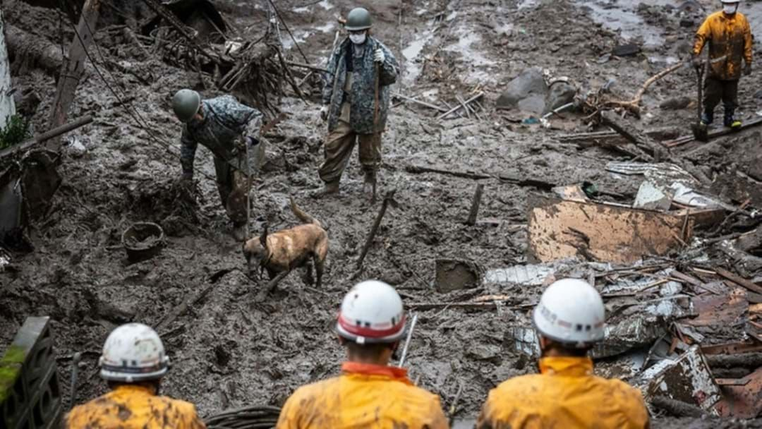 Article heading image for Search For Survivors Continues In Japan After Deadly Landslide Wipes Through Resort City