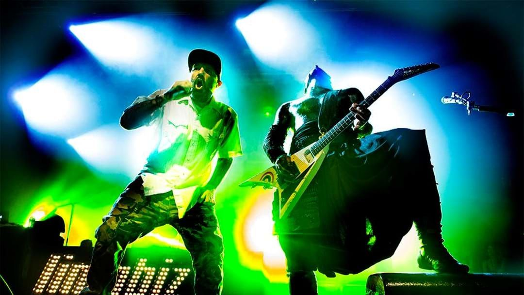 Article heading image for Last Night Limp Bizkit Covered Nirvana With Marilyn Manson At Their $3 Gig