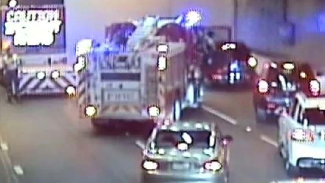 Article heading image for All Lanes Of The Burnley Tunnel Are Closed Due To A Vehicle Fire