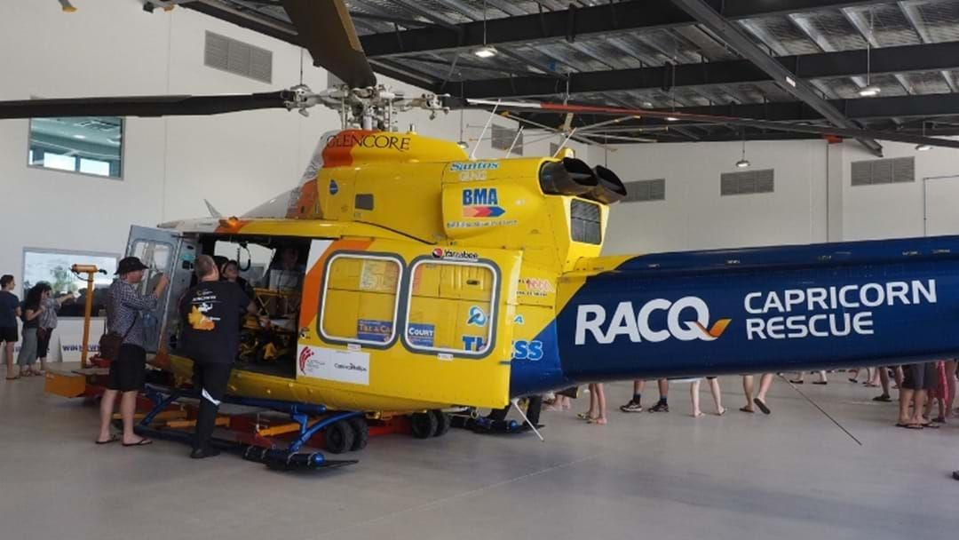 Article heading image for Go Along To The RACQ Capricorn Helicopter Rescue Service Community Open Day Next Week!