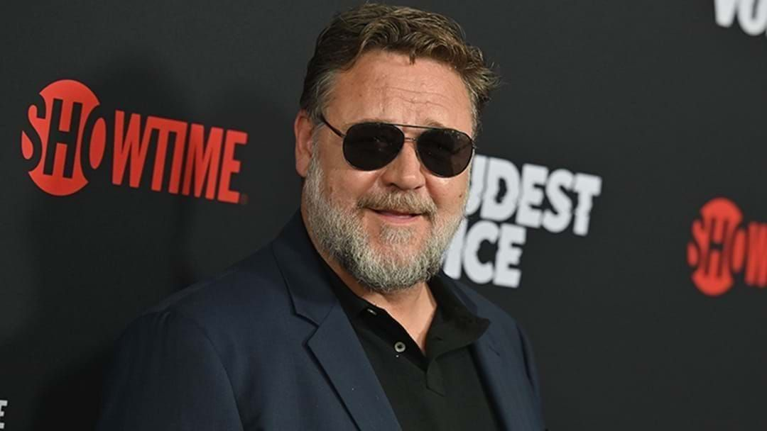 Article heading image for Russell Crowe Shares Message About Australian Bushfires At Golden Globes