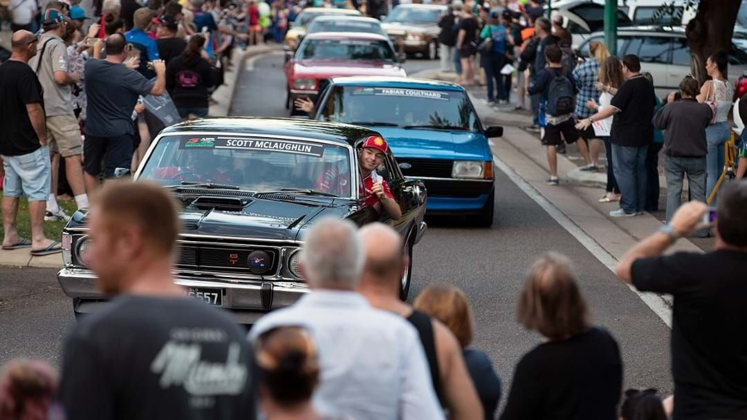 Article heading image for The Supercars Supercruise Is On This Arvo And The Kids Will Love It