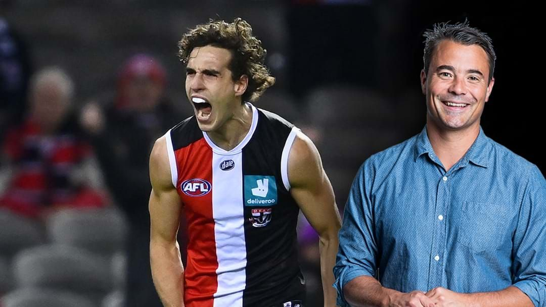 Article heading image for Jay On Max King Signing A Four Year Extension With St Kilda