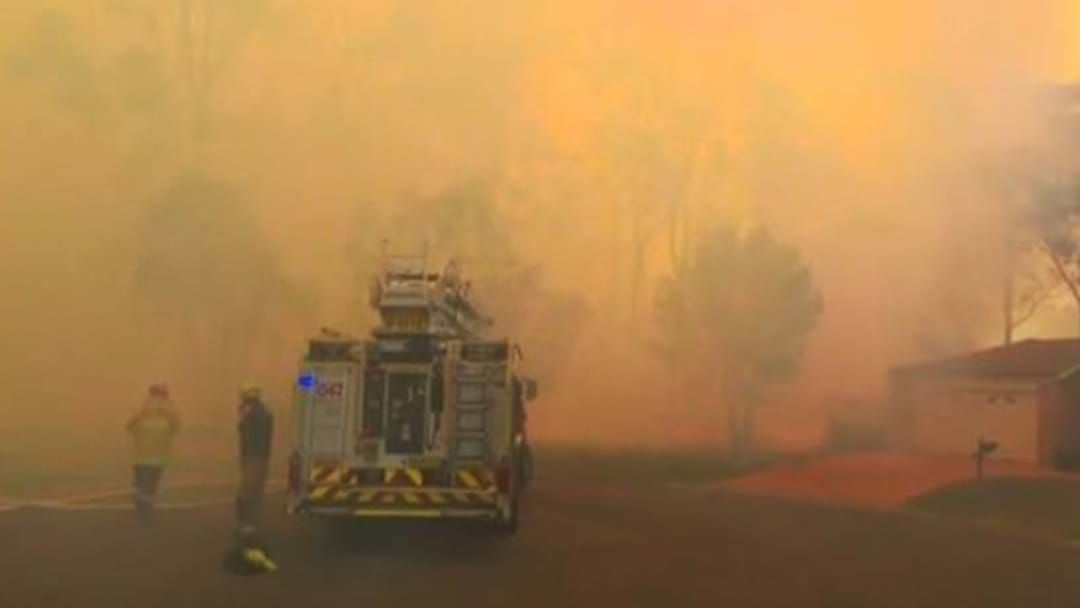 Article heading image for An Emergency Warning Has Been Issued From NSW RFS