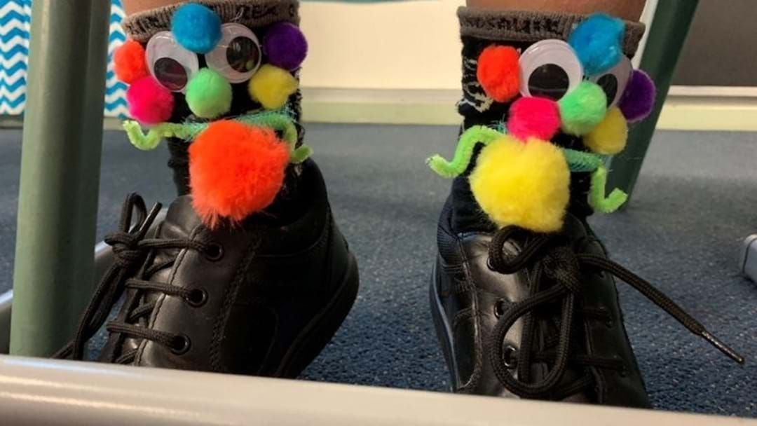 Article heading image for A Local School Used Socks To Raise Money For Children's Hospitals!