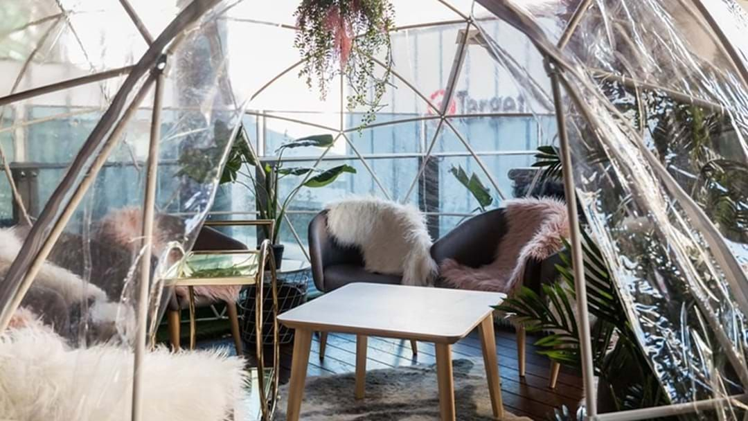 Article heading image for Snuggle Up Under The Stars In These Stunning Rooftop Igloos This Winter!