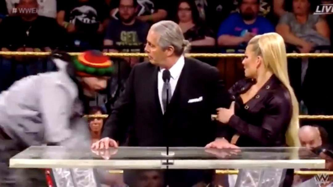 Article heading image for A Fan Attacked Bret Hart During His WWE Hall Of Fame Induction Speech
