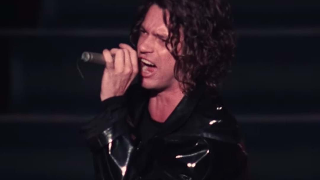 Article heading image for Michael Hutchence In Glorious 4K Singing New Sensation To A Mosh Pit For The Ages