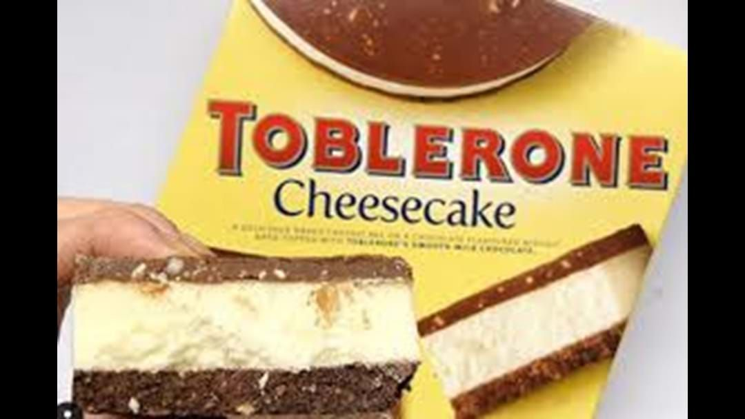 Article heading image for Toblerone Cheesecake Now Available