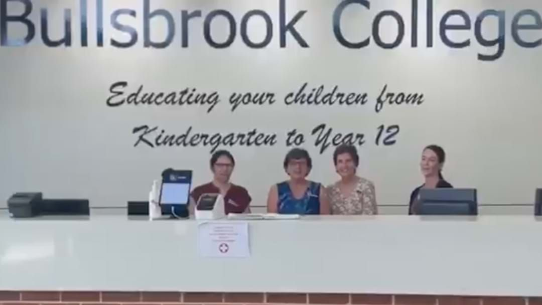 """Article heading image for Heartfelt Vid From Bullsbrook College Teachers To Their Students: """"We MISS YOU!"""""""