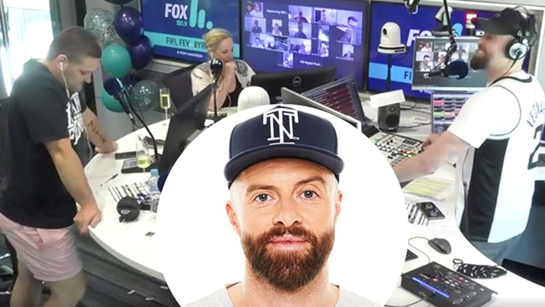 Article heading image for Byron Cooke's Emotional Goodbye On Radio With Fifi And Fev