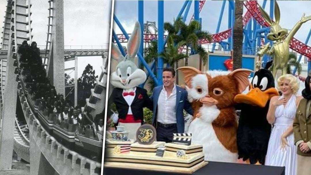 Article heading image for 30 Year Anniversary of Movie World Celebrated With Bugs Bunny Statue