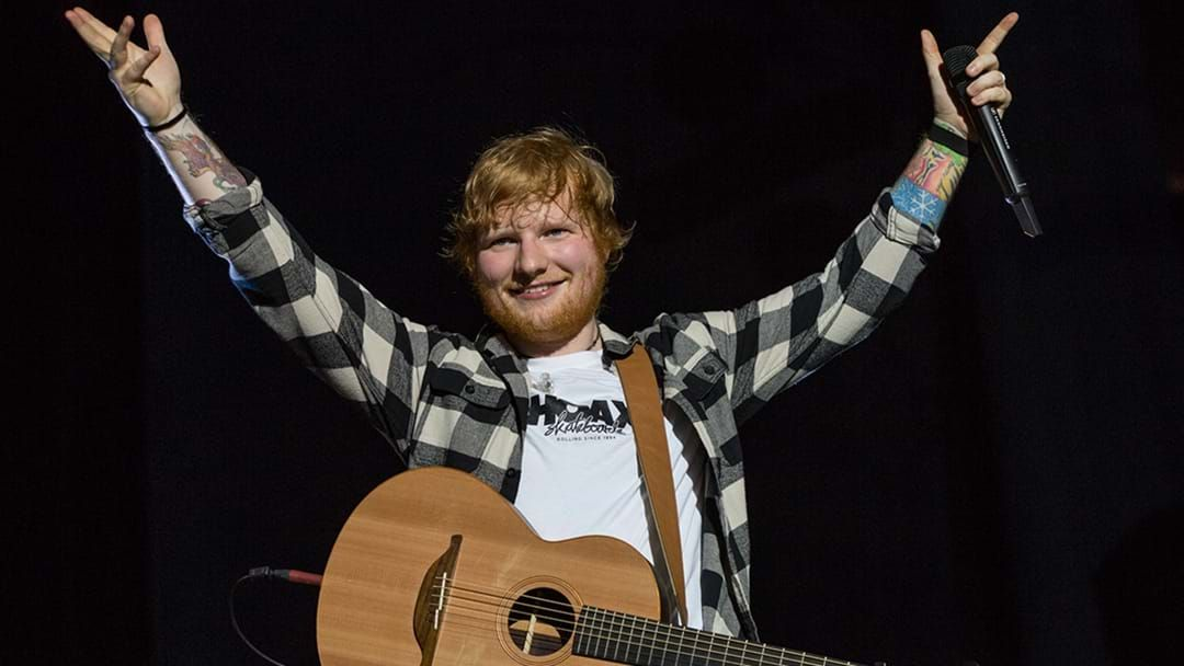 Article heading image for Ed Sheeran Announces He's Having A Break