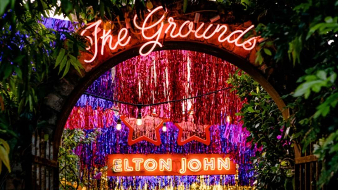Article heading image for The Grounds Has Transformed Into An Elton John 'Yellow Brick Road' Wonderland!