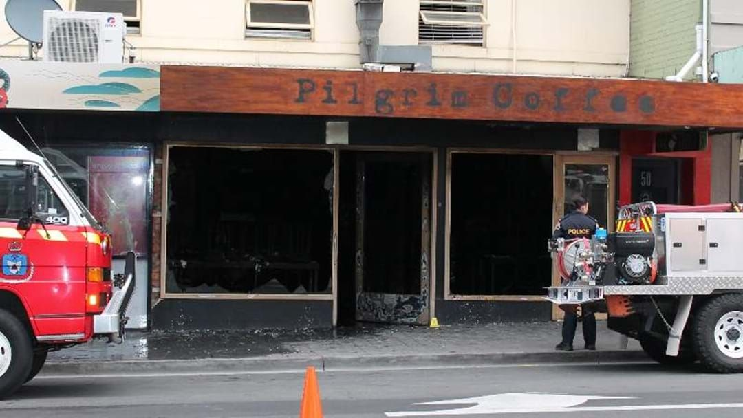 Article heading image for Hobart's Pilgrim Coffee Gutted By Fire