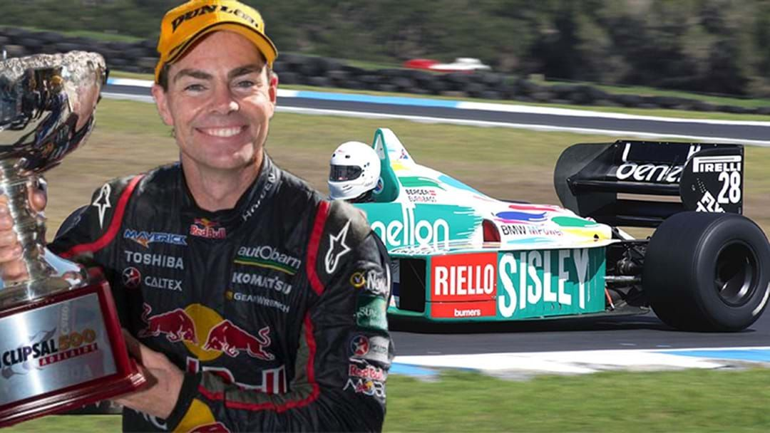 Article heading image for Craig Lowndes To Drive Oldschool F1 Car Through The Streets Of Adelaide
