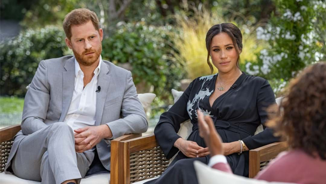 Article heading image for Body Language Expert Reveals How Meghan Really Felt In Her Oprah Interview