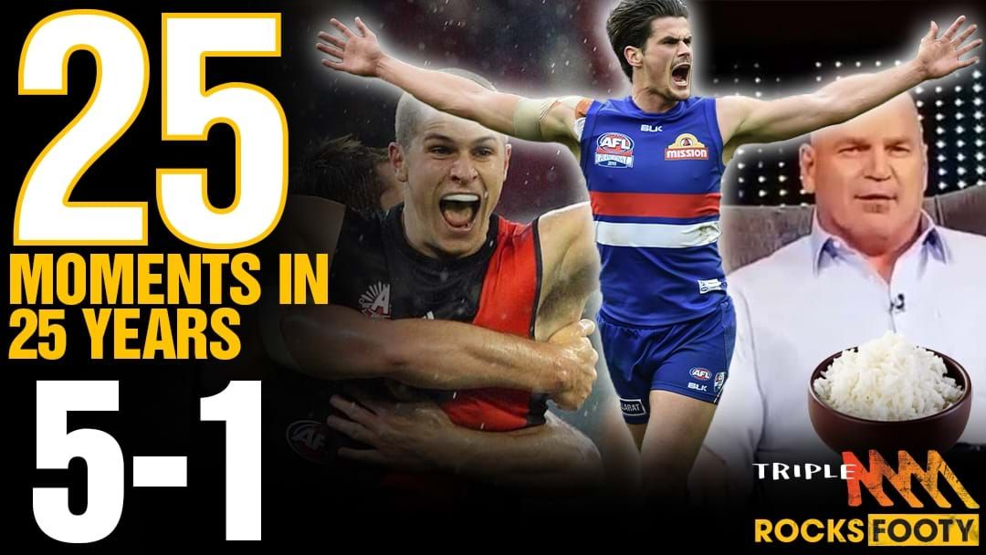 Article heading image for Triple M Footy's 25 Moments: 5-1