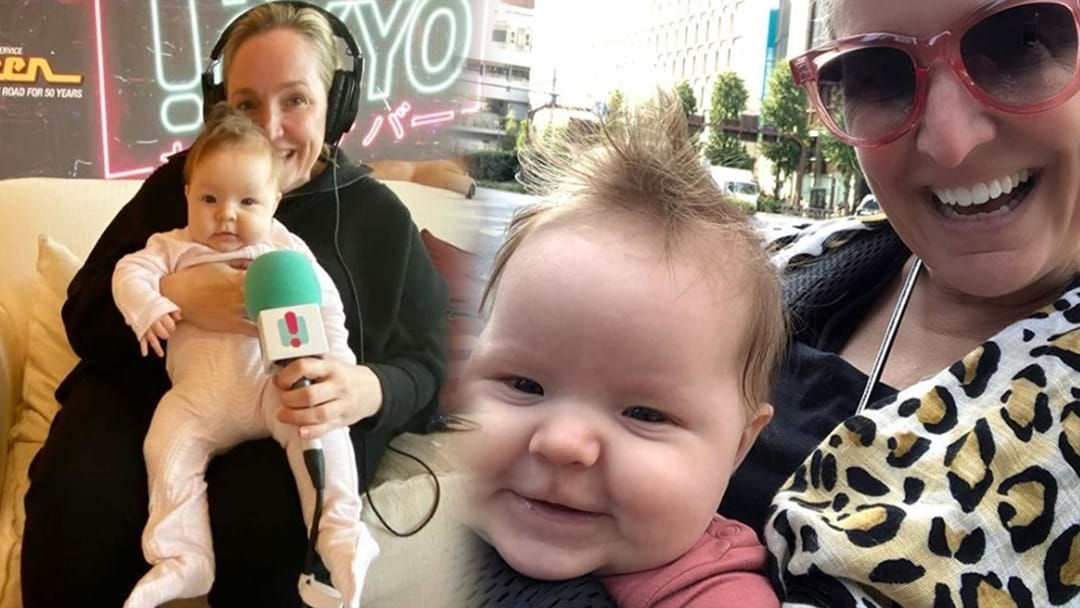 Article heading image for Fifi Box Discovered The Ultimate MUM HACK To Stop Her Four-Month-Old From Crying!