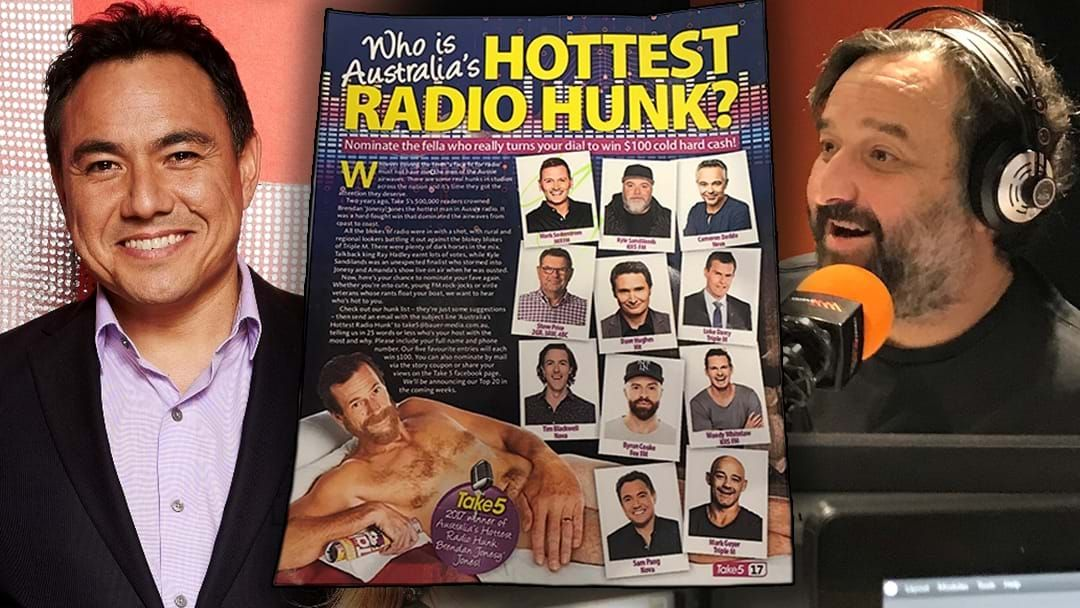 Article heading image for Mick Molloy ROASTS Everyone Else Competing For Australia's Hottest Radio Hunk!