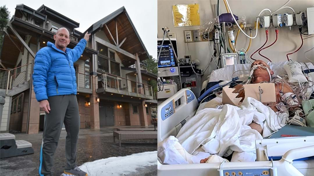 Article heading image for This Man Fell Off His Roof And Broke Almost EVERY Bone In His Body!