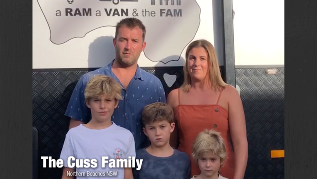 Article heading image for Meet The Cuss Family!