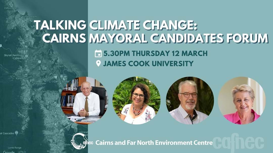 Article heading image for Our Mayoral candidates will go head to head over climate change this Thursday.