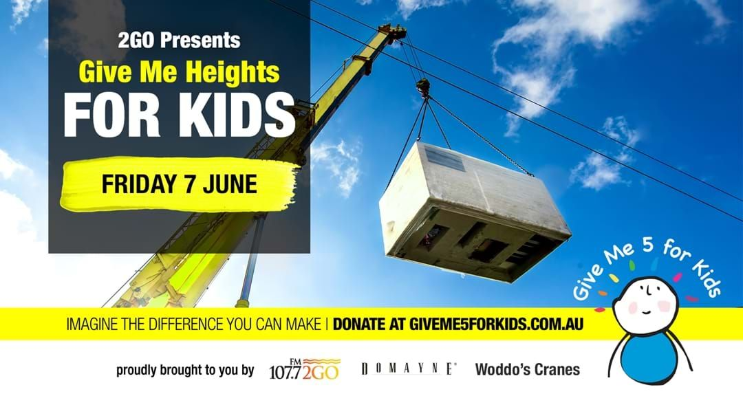 Article heading image for We're Taking Give Me 5 For Kids To NEW HEIGHTS!!