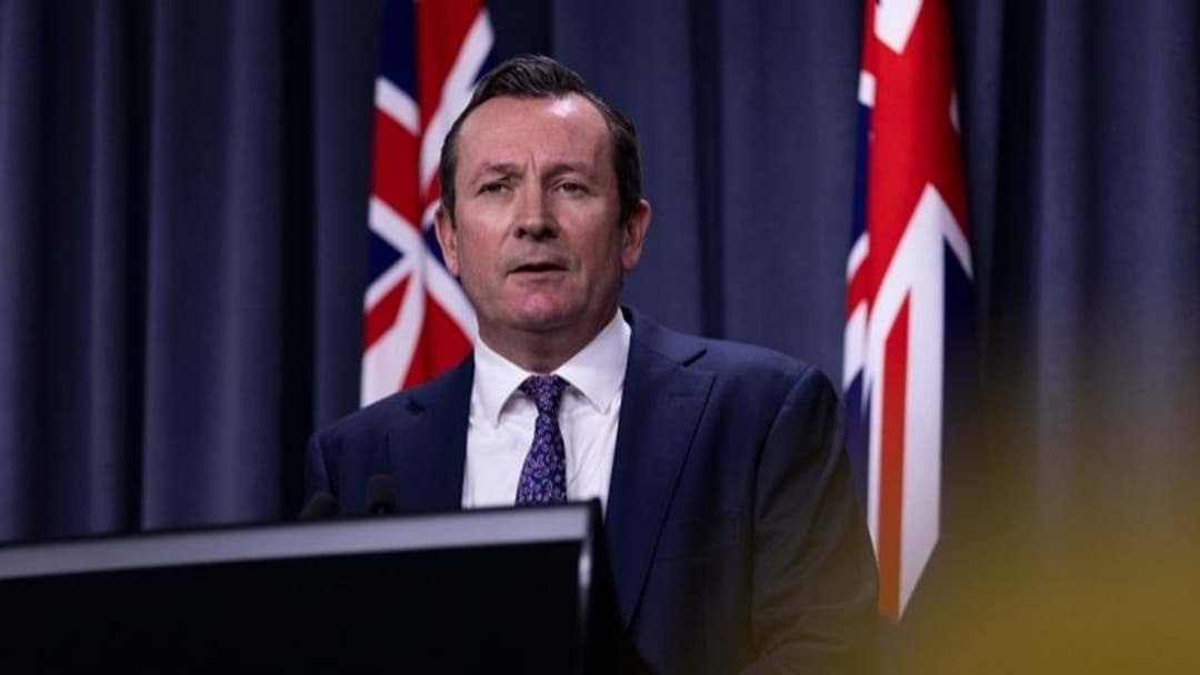 Article heading image for WA Premier Predicts Borders Won't Open Until Next Year
