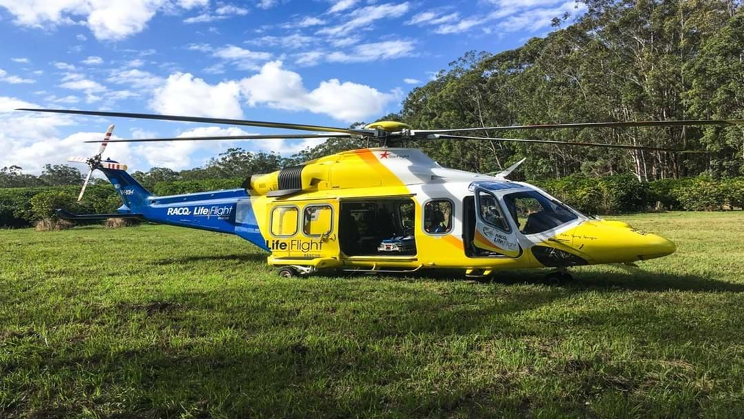 Article heading image for Patient Airlifted after Horrific Car Accident
