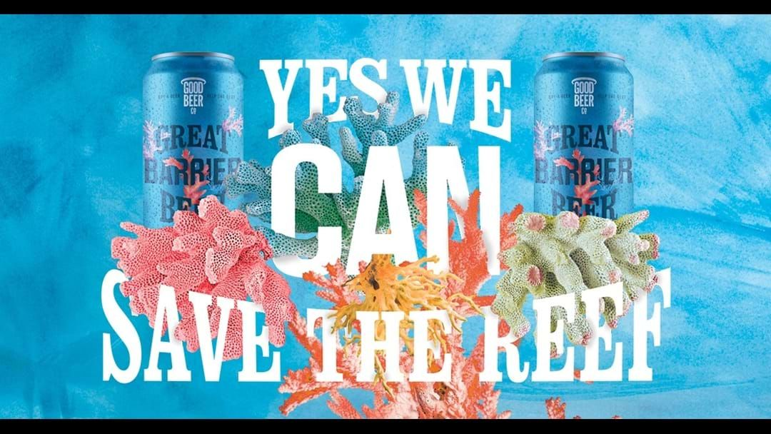 Article heading image for Saving our reef one beer at a time
