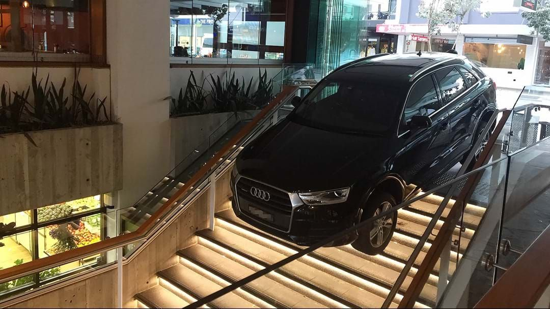 Article heading image for Sydney Driver Has An Absolute 'Mare Of A Monday, Mistakes Stairs For Driveway