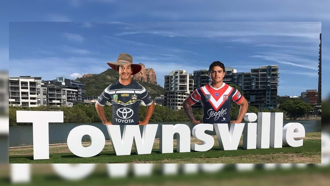 Article heading image for Guys, There's Rumours About JT Giving Latrell Mitchell A Tour Of Townsville
