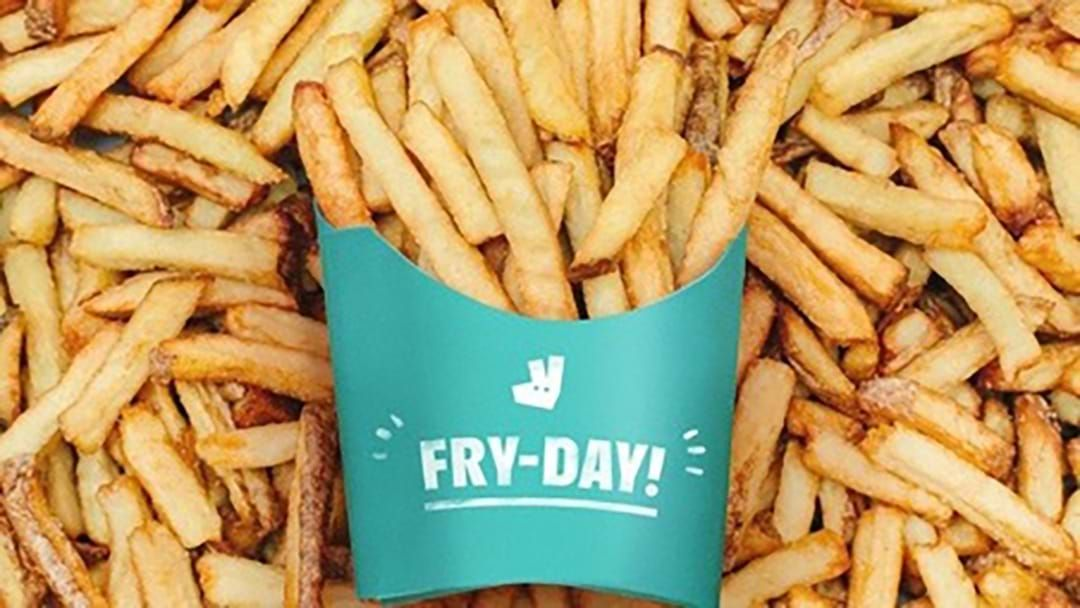 Article heading image for Deliveroo Are Giving Away Over 5 Million Fries This Weekend