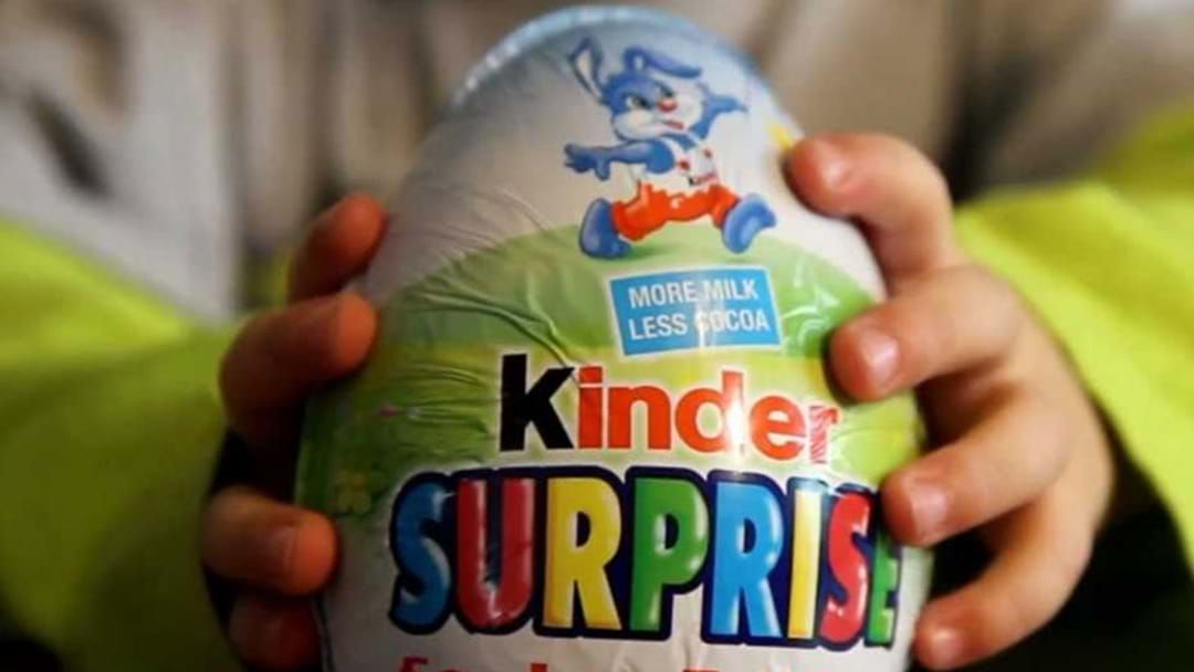 Kinder Surprise Made The GIANT Easter Egg Of Our Dreams