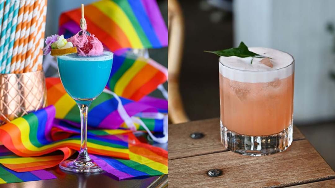 Article heading image for The Most Fabulous Mardi Gras Themed Cocktails In Sydney