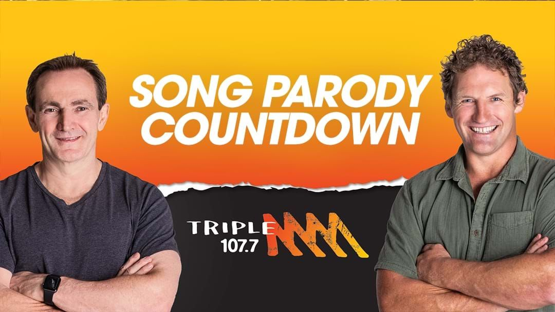 Article heading image for Paddy & Rob Palmer's Song Parody Countdown