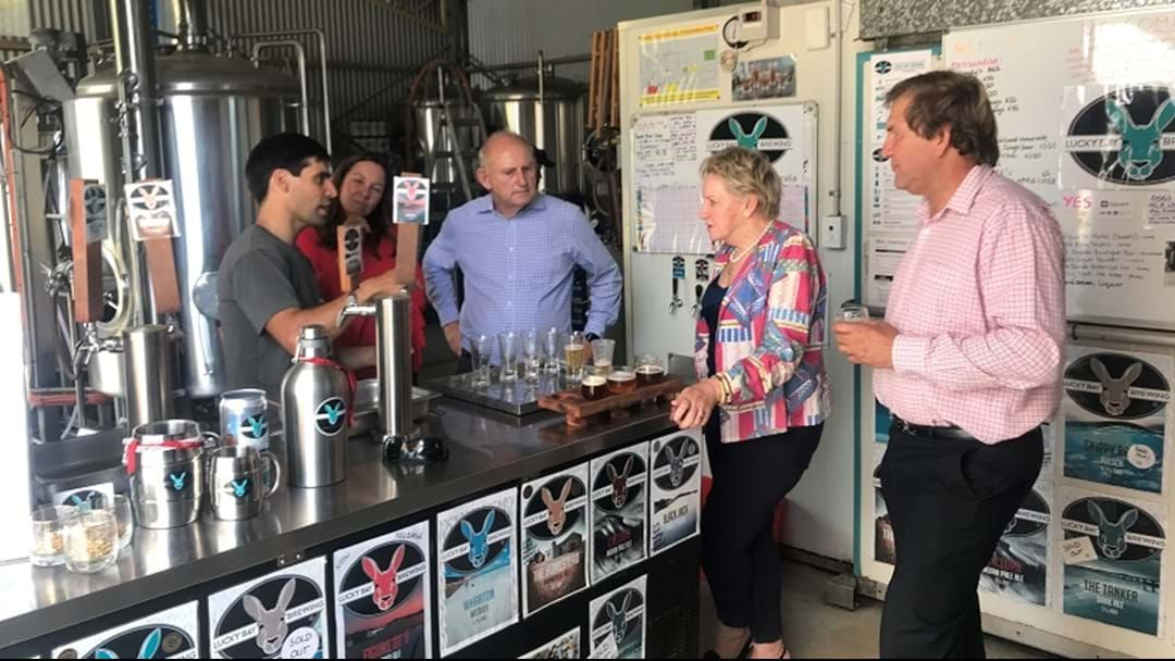 Article heading image for LUCKY BAY BREWING receive timely grant to SECURE its future