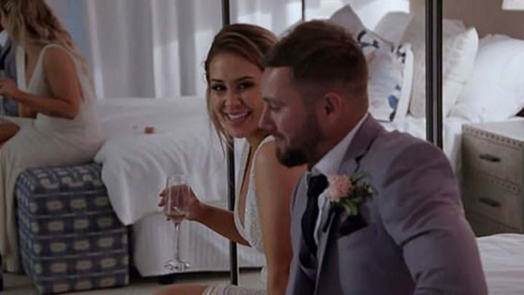 Article heading image for Everyone's Favourite MAFS Husband, Josh, Lets A Secret Slip About His Relationship With Cathy