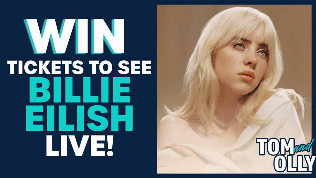 Competition heading image for Win Tickets to See Billie Eilish Live!