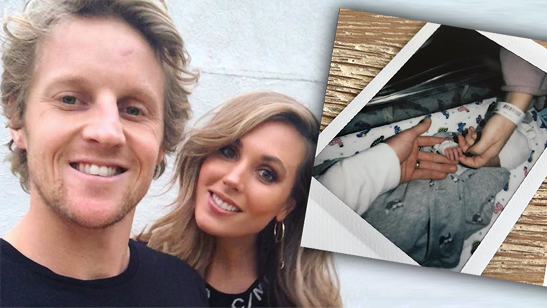 Article heading image for Rory And Belinda Sloane Have Made A Heartfelt Tribute To Their Stillborn Son