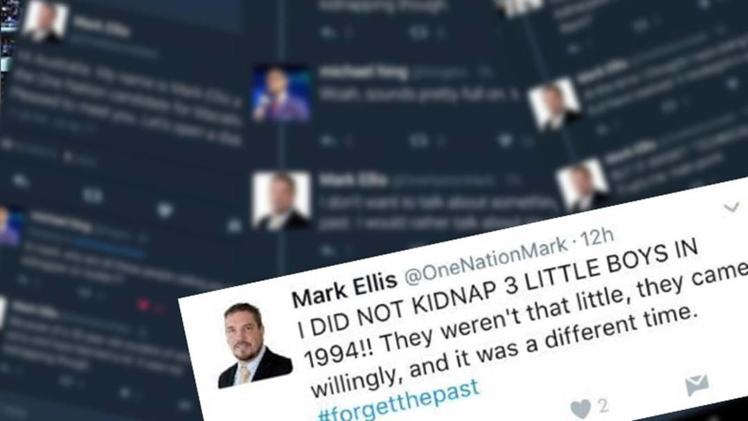 Article heading image for One Nation MP Hopeful Has VERY Bad Day On Twitter