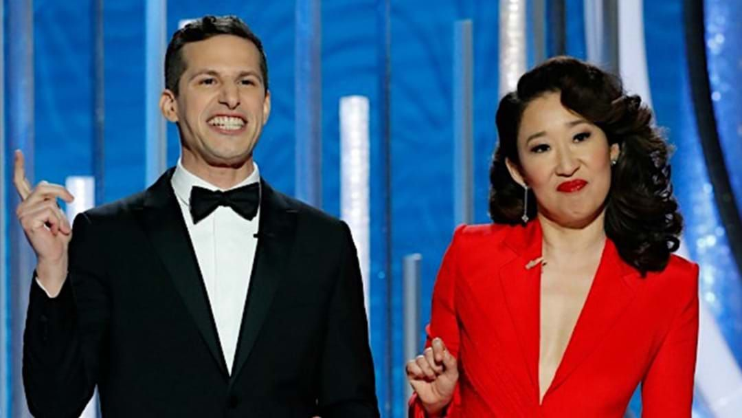 Article heading image for Andy Samberg Reveals The Jokes He Couldn't Say While Hosting The Golden Globes