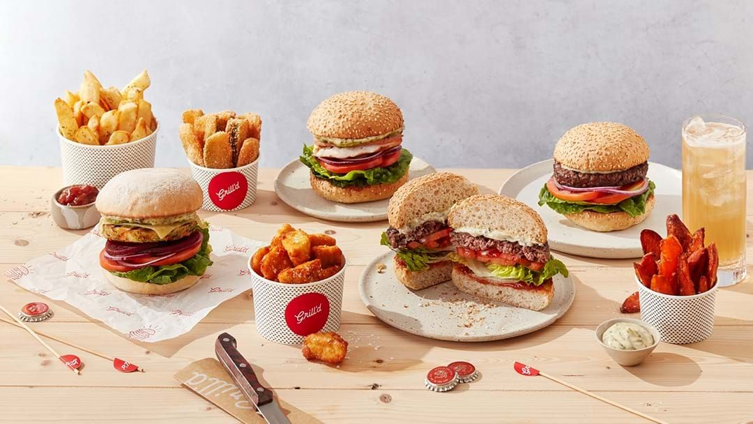 Competition heading image for Win a FREE Grill'd Burger